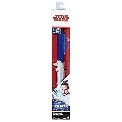Star Wars: The Last Jedi Rey (Jedi Training) Electronic Lightsaber: Toys & Games