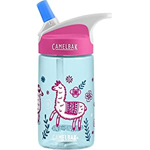 CamelBak Eddy Kids Back To School Water Bottle, Llama, 0.4 L