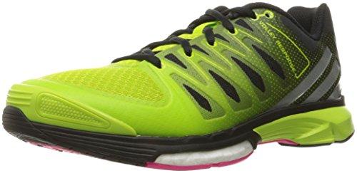 adidas Performance Women's Volley Response 2 Boost W Volleyball Shoe Semi Solar Slime/Metallic Silver/Black