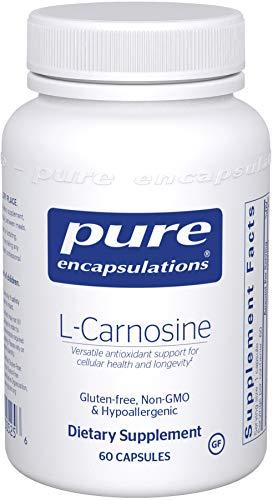 Pure Encapsulations - l-Carnosine - Hypoallergenic Antioxidant for Cellular Protection* - 60 Capsules