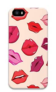 Shiny Kisses1 PC Case Cover for iPhone 5 and iPhone 5s 3D