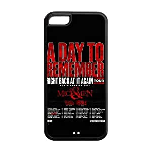 A Day to Remember Solid Rubber Customized Cover Case for iPhone 5c 5c-linda190