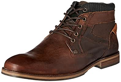 Wild Rhino Men's Medford Shoes, Brown (Rust), 7 US (40 EU) 6 AU