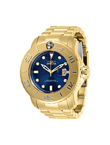Invicta Men's Pro Diver Automatic Watch with Stainless Steel Strap, Gold, 26 (Model: ()