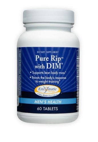 Pure Rip with DIM Enzymatic Therapy Inc. 60 Tabs - Coldwater Therapy