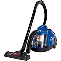 Bissell Zing Bagless Canister Vacuum, Caribbean Blue