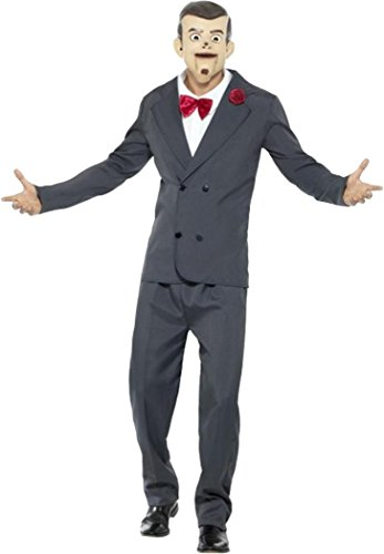 Goosebumps Slappy The Dummy Costume Grey Large (chest 42