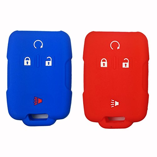 2pcs-coolbestda-silicone-key-fob-cover-case-protector-remote-control-shell-keyless-jacket-for-gmc-si