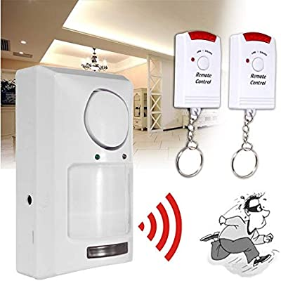 Amazon.com: Nesee Wireless Home Security Driveway Alarm, 1 ...