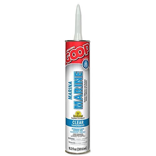 (Amazing GOOP 172012 Eclectic Marine Adhesive, 10.2 Oz, Tube, Liquid, 1-Pack)