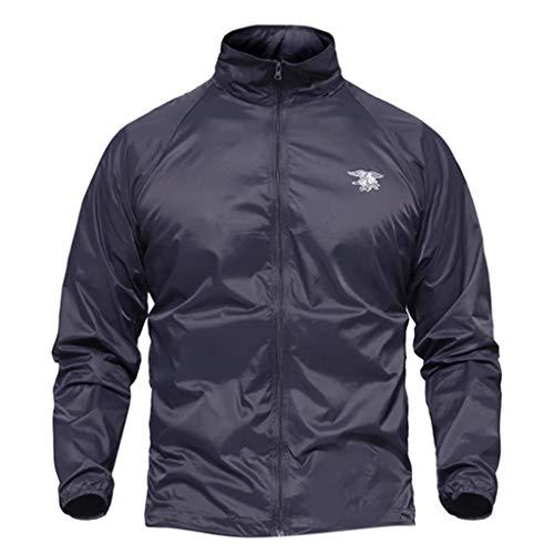 Sokajoy ♦ Men's Mountain Waterproof Ski Jacket Windproof Ative Military Rain Jacket Outerwear Bomber Jackets for Men ()