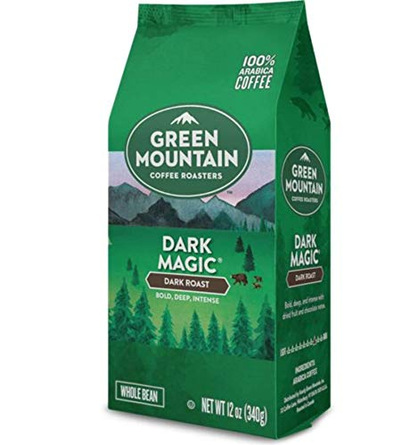 Green Mountain Coffee Dark Magic, Whole Bean, 12oz. Bag (Pack of 3) ()