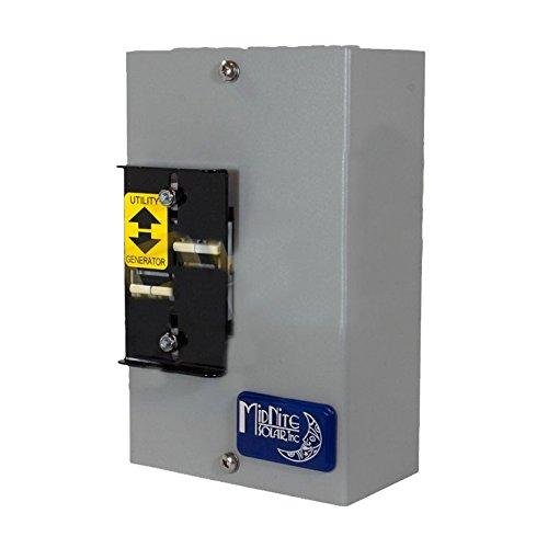 Midnite Solar Manual Big Baby Transfer Switch - 60 Amp, 240 VAC
