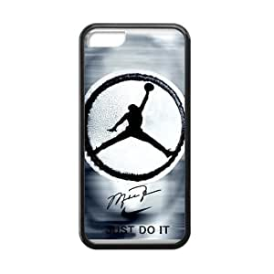 GENERIC Hipster Air Jordan JUST DO IT Quote Case for iPhone 5C TPU (Laser Technology) hjbrhga1544