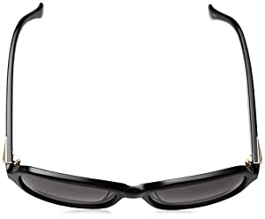 Calvin Klein Women's Ck4290s Rectangular Sunglasses, Black, 56 mm