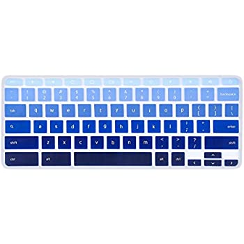 Keyboard Cover for 2019/2018/2017 Acer Chromebook 11 CB3-131 CB3-132/ Chromebook R 11 CB5-132T/ Acer Chromebook Spin 13 CP713 CB5-312T/ Chromebook 14 CB514 ...