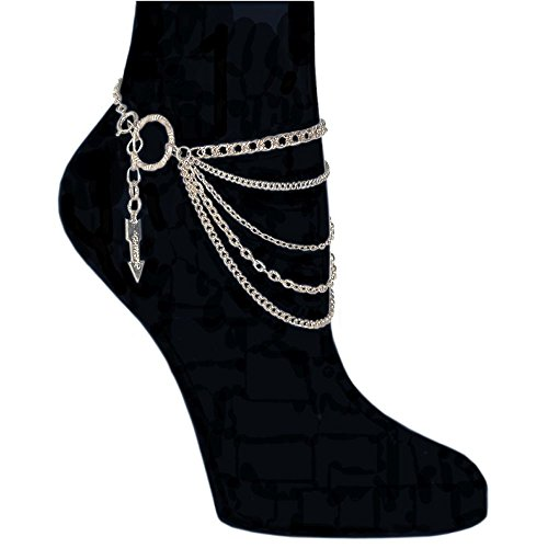 5-Row-Chain-Anklet-Made-in-USA-A-GirlPROPS-Exclusive