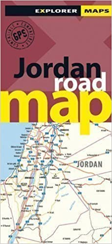 Jordan road map road maps by explorer publishing and distribution flip to back flip to front publicscrutiny Choice Image