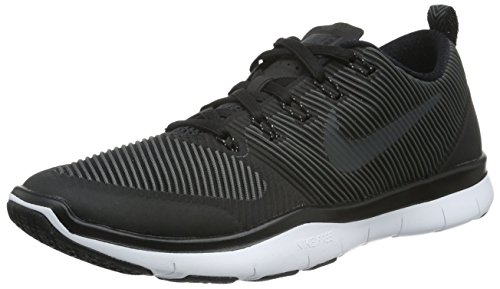 NIKE Free Train Versatility Men's Training Shoe Running Sneakers 833258 (12 M US, Black/White/Black)