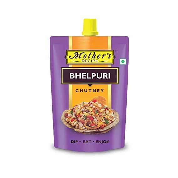 Mothers Recipe Bhelpuri Chutney Pouch, 200 g