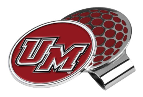 NCAA Massachusetts Minutemen Golf Hat Clip with Ball Marker, One Size (Minutemen Golf)