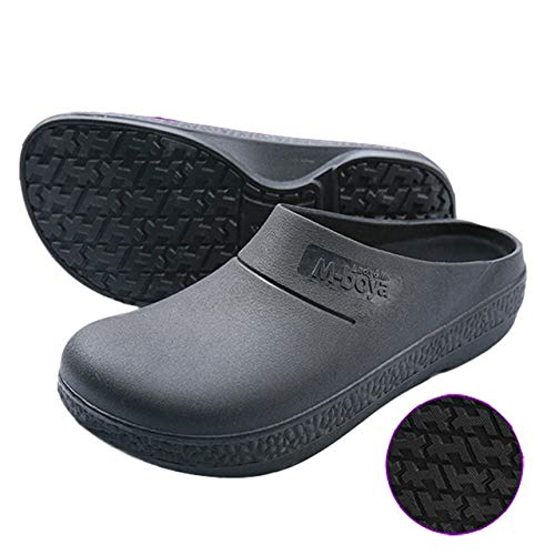 499cd5ca3715 MAX MEMBER Non-Slip Chef Shoes Oil and Waterproof Restaurant Kitchen Hotel  Cook Work Laboratory Shoes Breathable Protective Shoes Men Women  Black