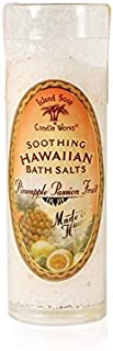 product image for Island Soap & Candle Works Bath Salt Tube, Pineapple Passion Fruit