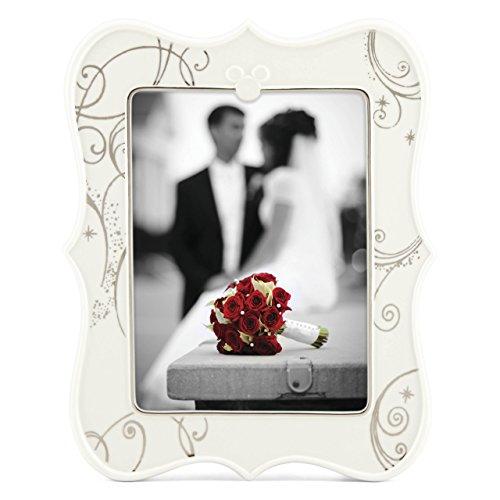 Lenox 853674 Classics Disney's Mickey & Minnie True Love 4x6 Frame by (Disney Picture Frames 4x6)