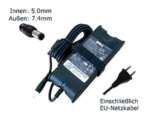 """Fuente de alimentación para Dell latitud PP09S PP11L PP12S PP13S cargador LCDs, cargador, Adaptador de CA, de alimentación (12 meses de garantía, compatible-cable) - """"de alimentación"""" europeo"""
