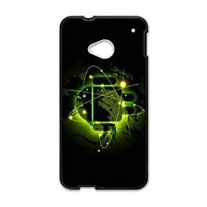 Cute Robot theme pattern design For HTC ONE M7 Phone Case