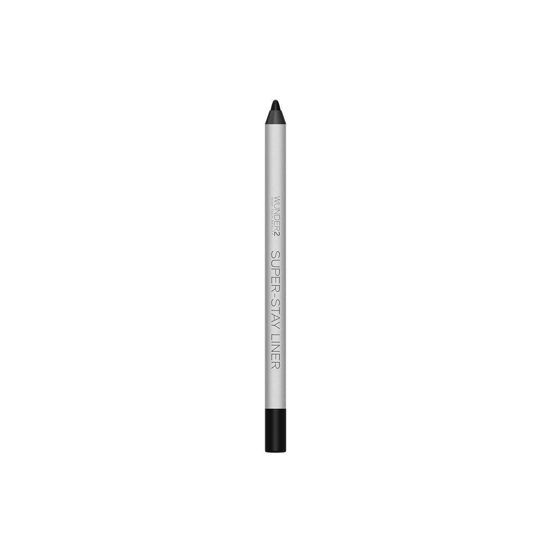 WUNDER2 SUPER-STAY LINER Long-Lasting & Waterproof Colored Eyeliner, Essential Black