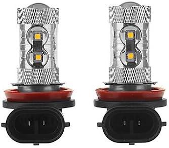 Optic 360 degree 50W H11 High Power LED Fog Lamp Bulb Best to Buy 2-PACK