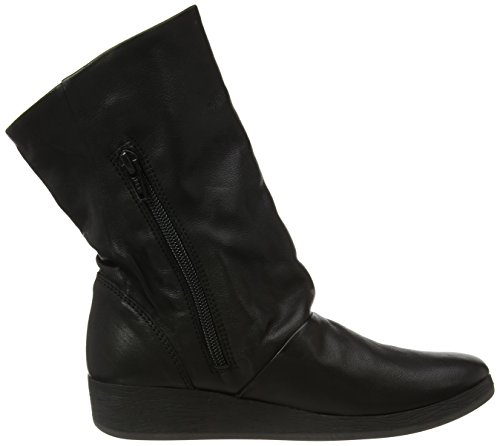 Ann417sof black Softinos Boots Women''s Black 5I11qpwx