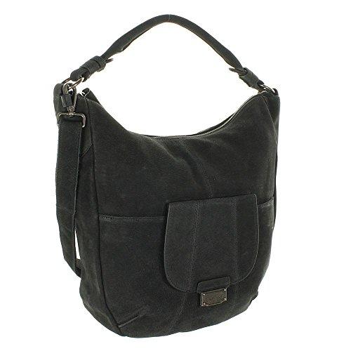 Women's Black Bag Freds 922 Bruder 01 Shoulder 86 Un05faxw5q