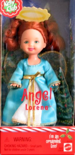Angel Lorena - Barbie Kelly Club - Xmas Ornament Doll (2001) (Xmas Club)