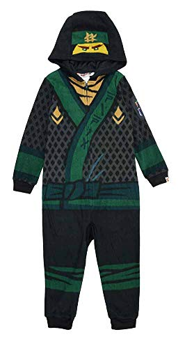 LEGO Ninjago Movie Lloyd Union Suit Costume Pajamas 4-12 (S -