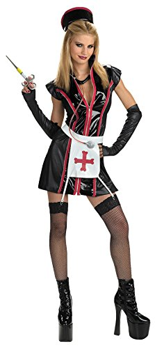 [UHC Girl's Naughty Nurse Theme Party Fancy Dress Teen Halloween Costume, Teen (7-9)] (Nurse Costumes For Teens)