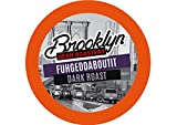 Brooklyn Beans Fuhgeddaboutit Coffee Pods, Compatible with 2.0 K-Cup Brewers, 40 Count