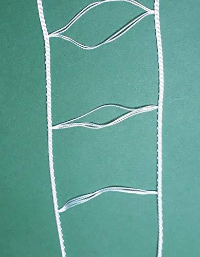 Asia Buy White Ladder String Tape for 2″ Blinds (100, feet)