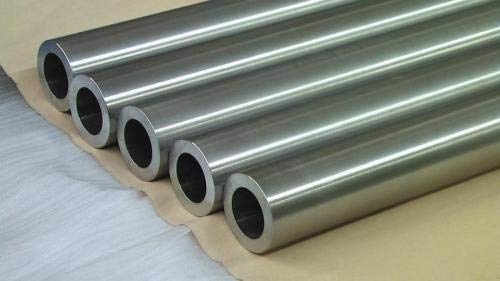 Ochoos 100mm Length TA2 Industrial Pure Titanium Hollow Tube Polished Ti Pipe Size:(7mm ID, 10mm OD)