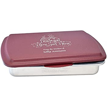Amazon Com Personalized 9x13 Quot Cake Pan And Engraved Lid