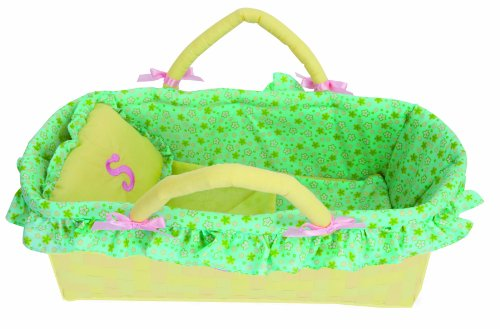 Manhattan Toy Baby Stella Moses Basket by Manhattan Toy