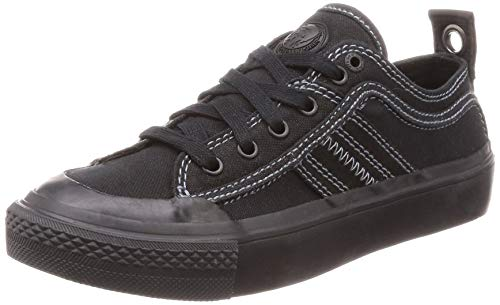 (Diesel Women's S-ASTICO Low LACE W-Sneakers, Black, 10 M US)