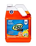 Camco 41197 TST Ultra-Concentrate Orange Scent RV Toilet Treatment, Formaldehyde Free, Breaks Down Waste And Tissue, Septic Tank Safe, Treats up to 16-40 Gallon Holding Tanks (1 Gal)