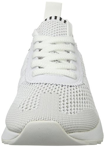 adidas Damen Primeknit Flashback Laufschuhe Weiß (Ftwr White/Core Black/Clear Grey)