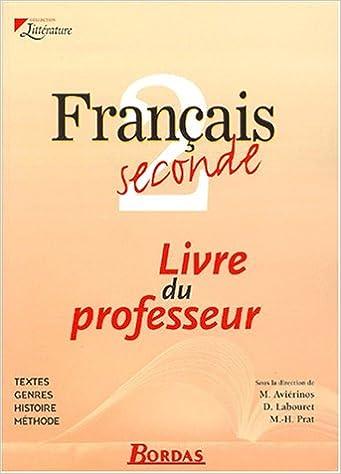 Google Telecharger Des Livres Francais 2nde Livre Du
