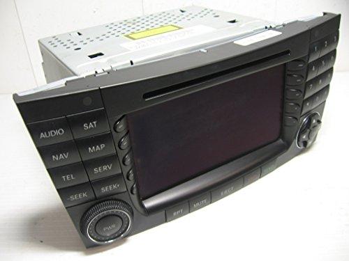 2118700289 Mercedes W211 Factory Genuine Command Navigation Harman Becker Receiver Display Screen Head Unit
