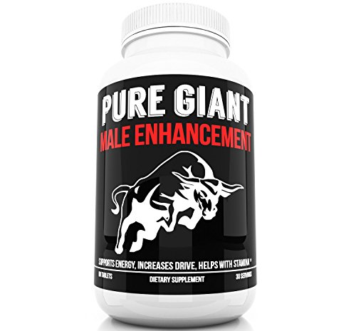 Male Enhancement Maximum Strength Enhancing Pills and Testosterone Booster for Men - Improve Sexual Health and Wellness Restore Energy and Drive Fast - Highest Quality Products Pure Giant Supplements (Stiff Nights Male)