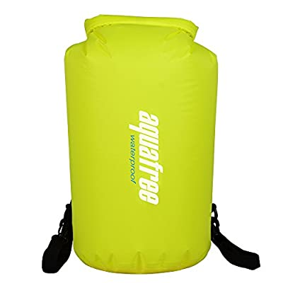 Aquafree Lightweight Waterproof Dry Bag with Shoulder Strap for Boating, Kayaking, Fishing, Beach, Swimming, Snowboarding
