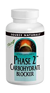 Source Naturals Phase 2 Carbohydrate Blocker, 120 Tablets